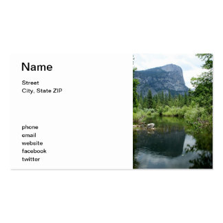 Mirror Lake Double-Sided Standard Business Cards (Pack Of 100)