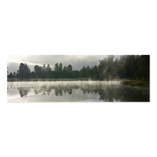Mirror Lake, Early Morning Double-Sided Mini Business Cards (Pack Of 20)
