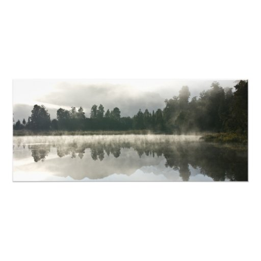Mirror Lake, Early Morning 4x9.25 Paper Invitation Card