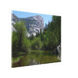 Mirror Lake I in Yosemite National Park Canvas Print