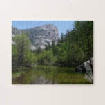 Mirror Lake I in Yosemite National Park Jigsaw Puzzle