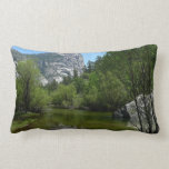 Mirror Lake I in Yosemite National Park Lumbar Pillow