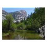 Mirror Lake I in Yosemite National Park Photo Print