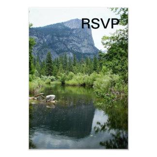Mirror Lake 3.5x5 Paper Invitation Card