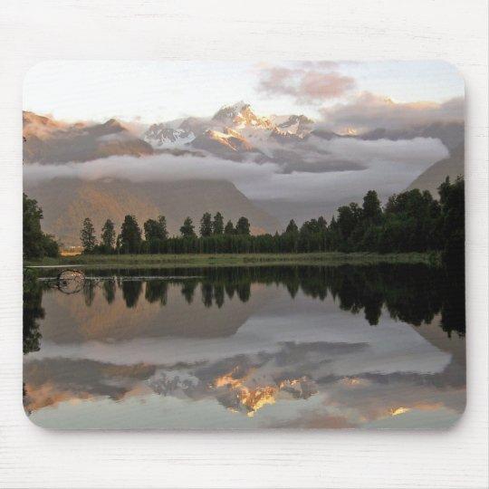 Mirror Lake - Lake Matheson Mousepad