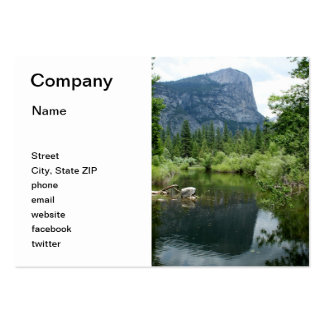 Mirror Lake Large Business Cards (Pack Of 100)