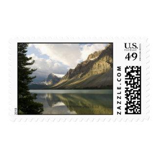 Mirror Lake Postage Stamp