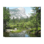 Mirror Lake View in Yosemite National Park Canvas Print
