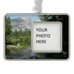 Mirror Lake View in Yosemite National Park Christmas Ornament