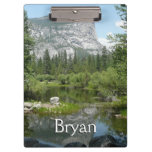 Mirror Lake View in Yosemite National Park Clipboards