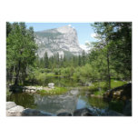 Mirror Lake View in Yosemite National Park Photo Print