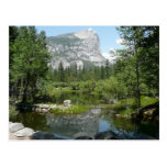 Mirror Lake View in Yosemite National Park Postcard