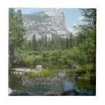 Mirror Lake View in Yosemite National Park Tile