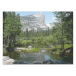 Mirror Lake View in Yosemite National Park Tissue Paper