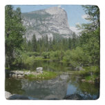 Mirror Lake View in Yosemite National Park Trivet