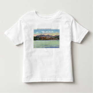 Mirror Lake View of the Lake Placid Club in Toddler T-shirt