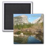 Mirror Lake, Yosemite Fridge Magnets