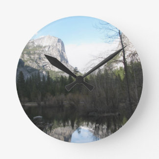 Mirror Lake - Yosemite Round Clock