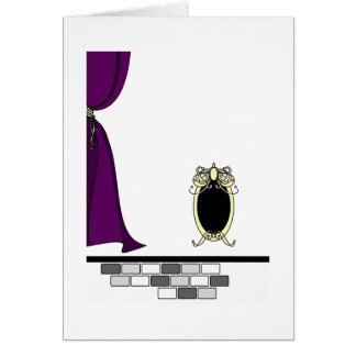 Mirror Mirror on the Wall Card