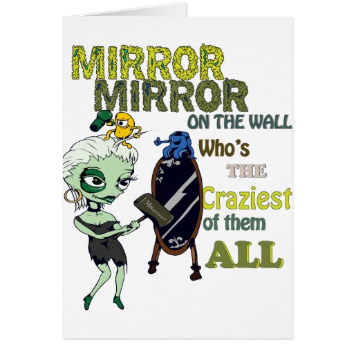 Mirror Mirror on the Wall Cards