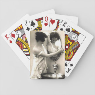 Mirror Mirror Vintage Erotica Pin-Up Girl Deck Of Cards