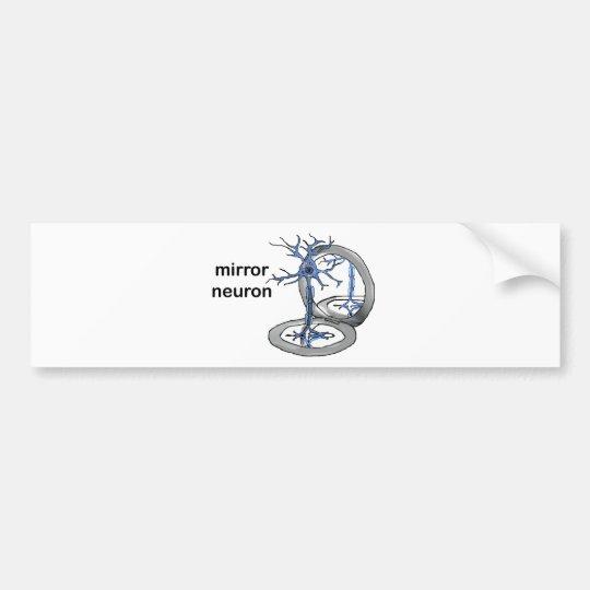 Mirror Neuron Bumper Sticker
