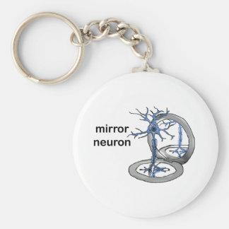 Mirror Neuron Basic Round Button Keychain