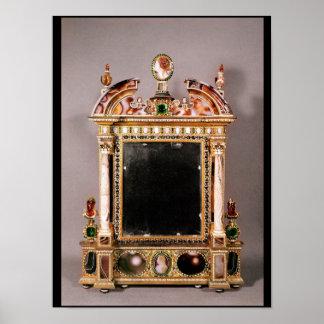 Mirror of Marie de Medici Poster