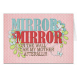 Mirror on the wall greeting cards