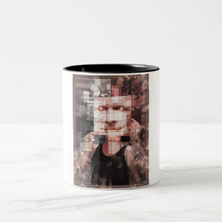 Mirror On The Wall Two-Tone Coffee Mug