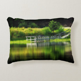 Mirror Pond Accent Pillow