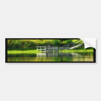 Mirror Pond Bumper Sticker