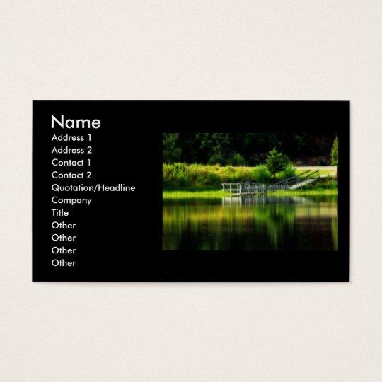 Mirror Pond Business Card