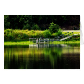 Mirror Pond Card