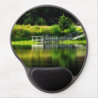 Mirror Pond Gel Mouse Pad