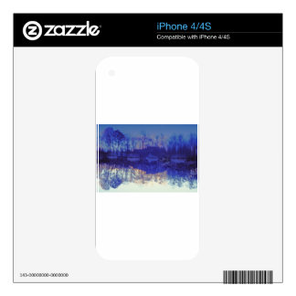 Mirror Pond in The Berkshires.jpg Decals For The iPhone 4S