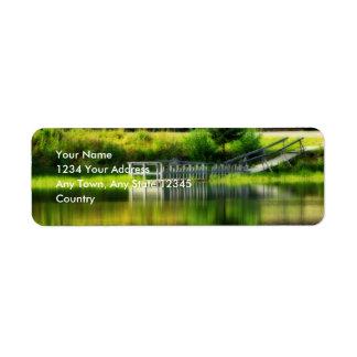 Mirror Pond Label