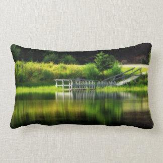 Mirror Pond Lumbar Pillow