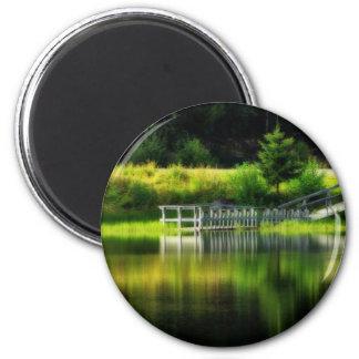 Mirror Pond Magnet