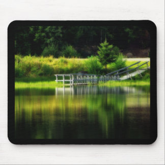 Mirror Pond Mouse Pad