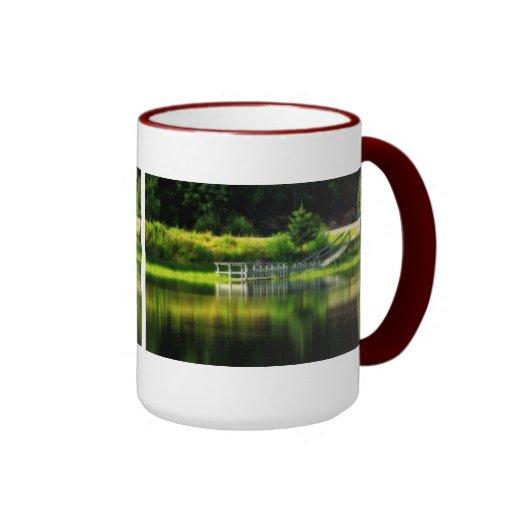 Mirror Pond Coffee Mugs