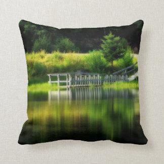 Mirror Pond Throw Pillow
