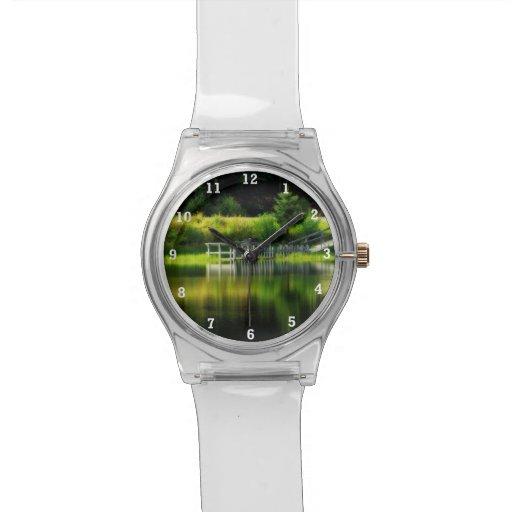 Mirror Pond Wristwatch