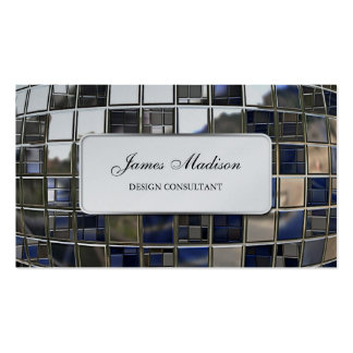 Mirror Sequence Double-Sided Standard Business Cards (Pack Of 100)