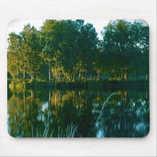 Mirror Trees Mousepad