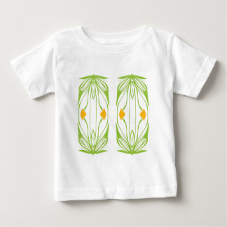 Mirror Tulips Baby T-Shirt