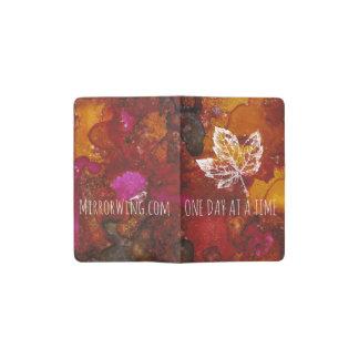 Mirror Wing Autumn Serenity Journal Pocket Moleskine Notebook
