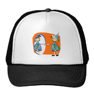 Mirror witch hats