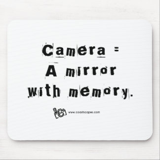 Mirror with Memory Quote v.2 Mouse Pad