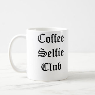 Mirror Writing Selfie Mug